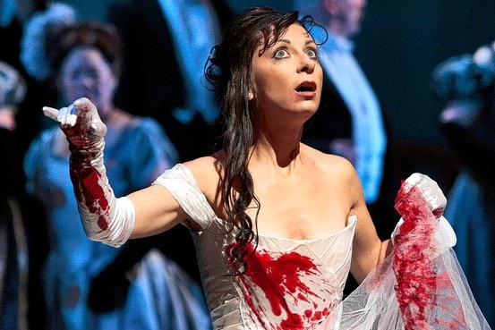 Natalie Dessay as Lucia-photo by Ken Howard