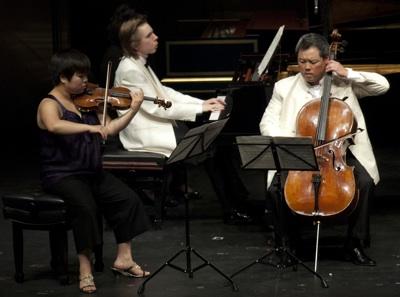 Yura Lee, Juho Pohjonen and Eric Kiml-Ashley Pinnell