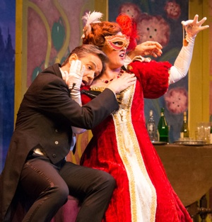 Martin Lewis and Jennifer Ashworth in Die Fledermaus by Lucas Buxman