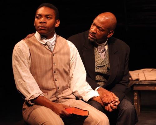 Eddie Ray jackson as Jacob Boyd; Adrian Roberts as his son, Charles