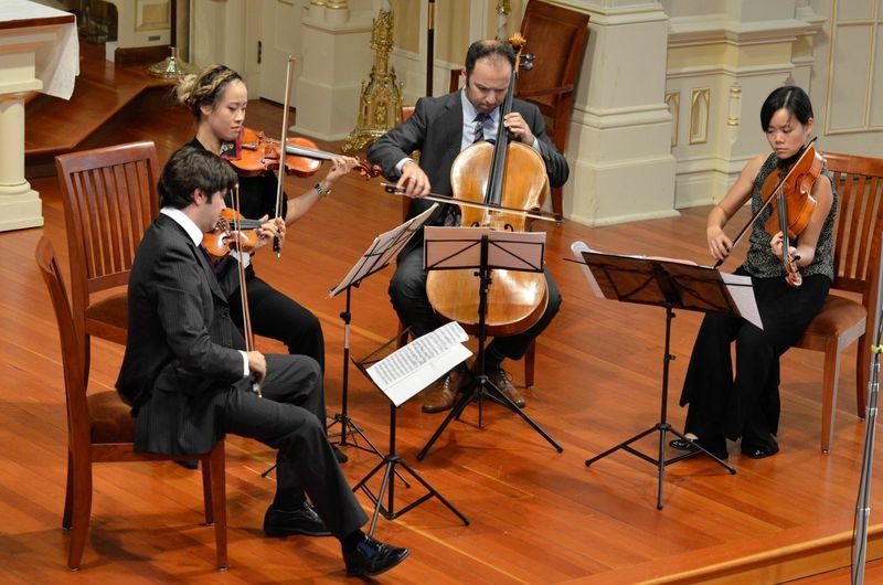Hausmann Quartet - by Adrian Bonifacio