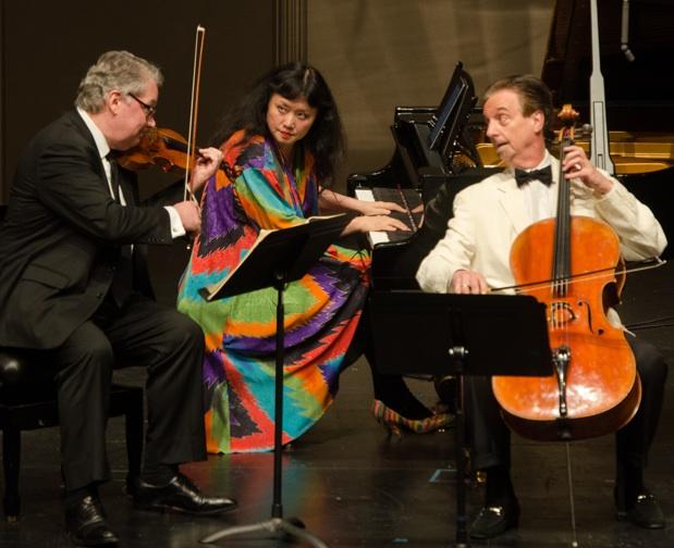 Wu Han, David Finckel, Philip Setzer-photo by Carlin Ma