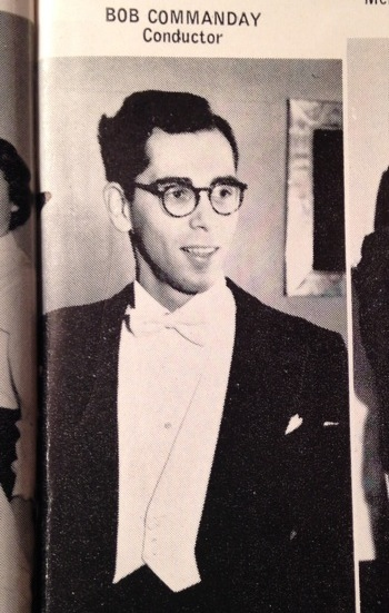 Bob Commanday-courtesy of the 1957 UC Yearbook