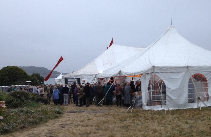 Festival Tent on the Mendocino headlands 2016- A.Broner