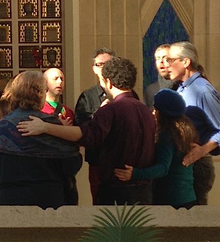 members of Cardew Choir