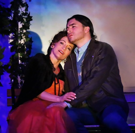 Don Pasquale-Eileen Meredith and Sergio Gonzales; photo by Sarah Sophia Pun