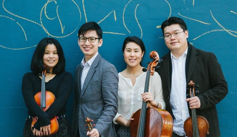 Formosa Quartet-photo by Sam Zauscher