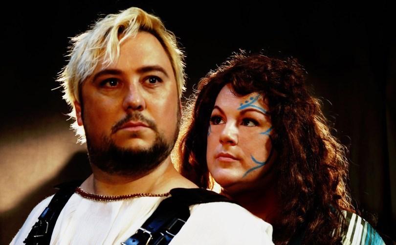 Norma at WestBayOpera-Christina Major and Benjamin Sloman-photo by Otak Jump